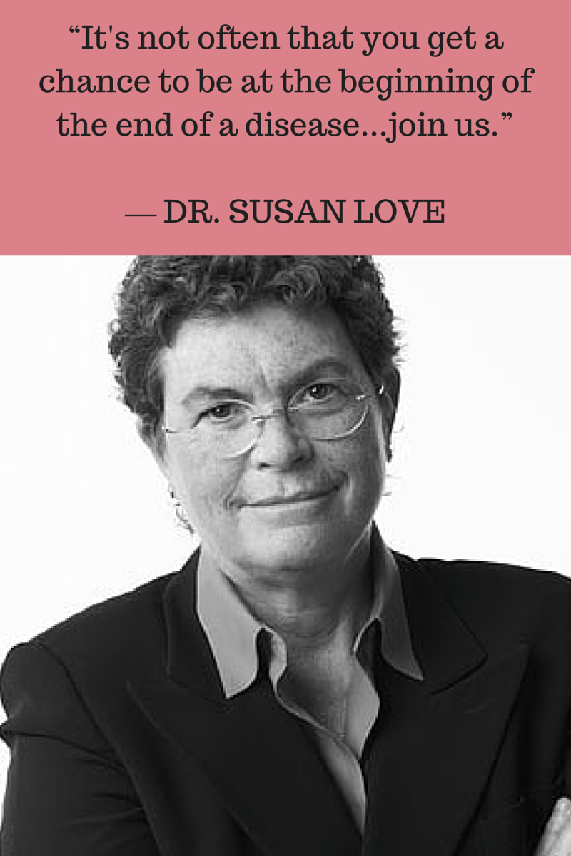 Why I Fell In Love With Dr. Susan Love