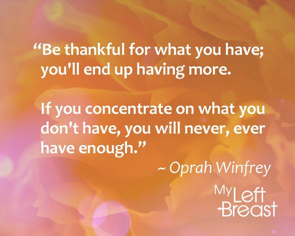 Oprah thxgiving