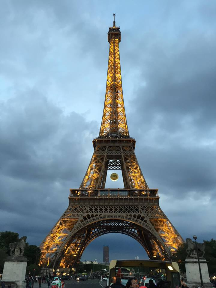 Beautiful Eiffel Tower at Night