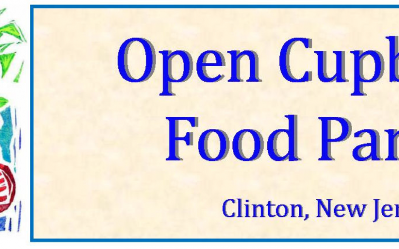 Open Cupboard Food Pantry