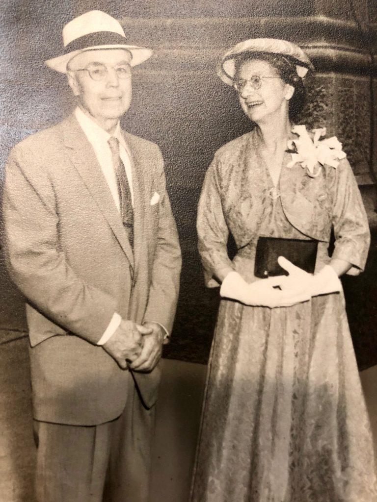 Grandma and Grandpa McClafferty